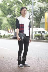 ファッションコーディネート原宿・表参道 2013年09月 斎藤章平さん