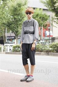 ファッションコーディネート原宿・表参道 2013年09月 上野晃宏さん