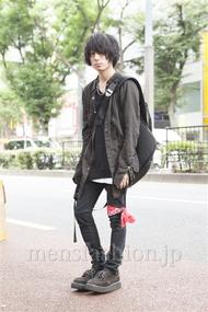ファッションコーディネート原宿・表参道 2013年09月 勝田俊介さん