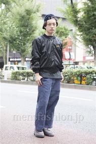 ファッションコーディネート原宿・表参道 2013年09月 井上貴弘さん