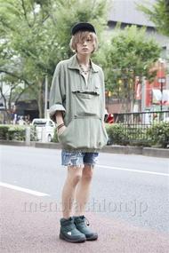 ファッションコーディネート原宿・表参道 2013年09月 長澤隆太郎さん