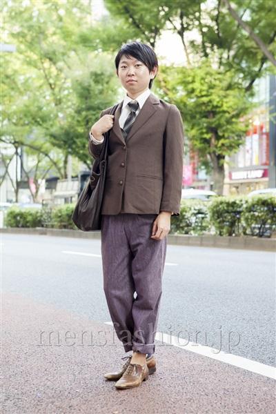 ファッションコーディネート原宿・表参道 2013年10月 せいいちろうさん