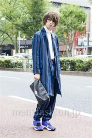 ファッションコーディネート原宿・表参道 2013年10月 石田直輝さん