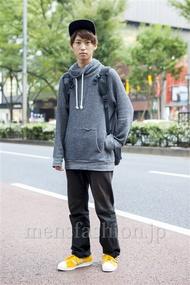 ファッションコーディネート原宿・表参道 2013年10月 品川 翔さん