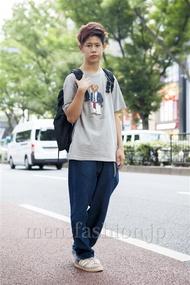 ファッションコーディネート原宿・表参道 2013年10月 岡崎 翼さん