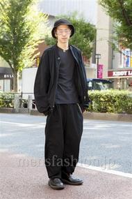 ファッションコーディネート原宿・表参道 2013年10月 松尾芳晴さん
