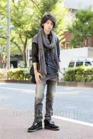 ファッションコーディネート原宿・表参道 2013年10月 藤木亮介さん