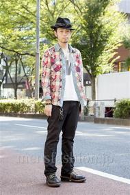 ファッションコーディネート原宿・表参道 2013年10月 小林綾太さん