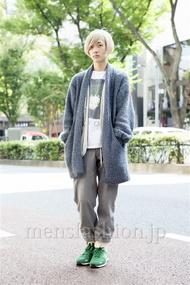 ファッションコーディネート原宿・表参道 2013年10月 宇梶祐市さん