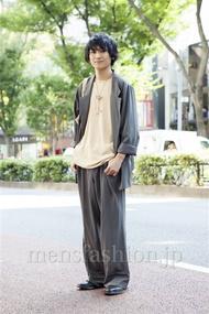 ファッションコーディネート原宿・表参道 2013年10月 高橋直斗さん