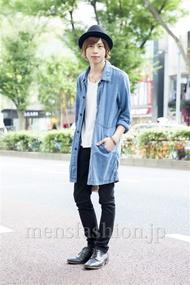 ファッションコーディネート原宿・表参道 2013年10月 大木光さん