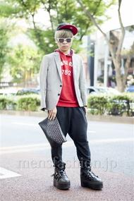 ファッションコーディネート原宿・表参道 2013年10月 てらぴーさん