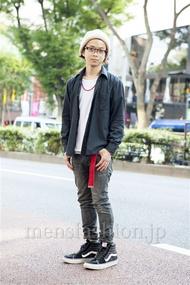 ファッションコーディネート原宿・表参道 2013年10月 佐藤貴龍さん