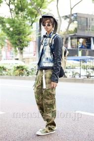 ファッションコーディネート原宿・表参道 2013年10月 あっすんさん