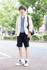 ファッションコーディネート原宿・表参道 2013年10月 たかのりさん