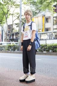 ファッションコーディネート原宿・表参道 2013年10月 栗林吏樹さん