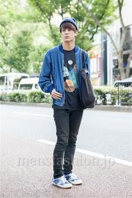 ファッションコーディネート原宿・表参道 2013年10月 佐々木和彦さん