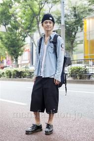 ファッションコーディネート原宿・表参道 2013年10月 村上広太さん