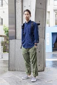 ファッションコーディネート原宿・表参道 2013年10月 荻原聖司さん