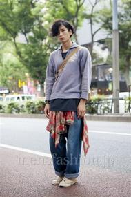 ファッションコーディネート原宿・表参道 2013年10月 加藤康貴さん
