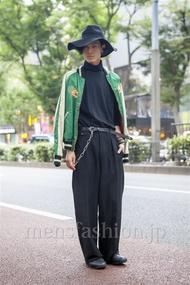ファッションコーディネート原宿・表参道 2013年10月 くろさん