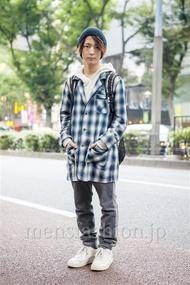 ファッションコーディネート原宿・表参道 2013年10月 名古屋 優さん