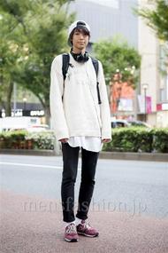 ファッションコーディネート原宿・表参道 2013年10月 Joeさん