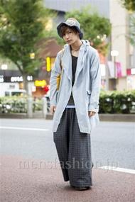 ファッションコーディネート原宿・表参道 2013年10月 岡毅さん
