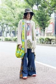 ファッションコーディネート原宿・表参道 2013年10月 北向達也さん
