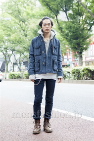 ファッションコーディネート原宿・表参道 2013年10月 Chiroさん