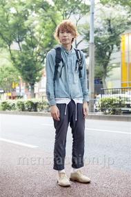 ファッションコーディネート原宿・表参道 2013年10月 宮下佳佑さん