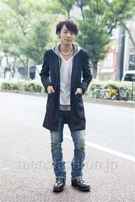 ファッションコーディネート原宿・表参道 2013年10月 松田亮葉さん