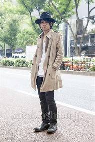 ファッションコーディネート原宿・表参道 2013年10月 黒山慶司さん