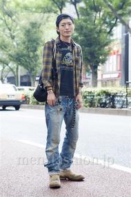 ファッションコーディネート原宿・表参道 2013年10月 大河光太朗さん