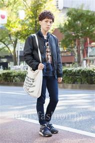 ファッションコーディネート原宿・表参道 2013年11月 宮崎寛之さん