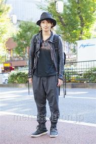 ファッションコーディネート原宿・表参道 2013年11月 新田快広さん