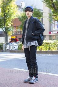 ファッションコーディネート原宿・表参道 2013年11月 木村政紀さん