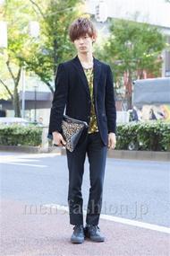 ファッションコーディネート原宿・表参道 2013年11月 小原教宏さん