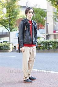 ファッションコーディネート原宿・表参道 2013年11月 松金祐大さん