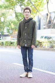 ファッションコーディネート原宿・表参道 2013年11月 ワタベショウマさん