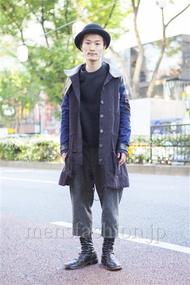 ファッションコーディネート原宿・表参道 2013年11月 野村大地さん