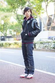 ファッションコーディネート原宿・表参道 2013年11月 青木健真さん