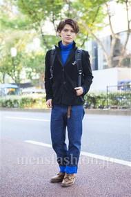 ファッションコーディネート原宿・表参道 2013年11月 川田晋吾さん