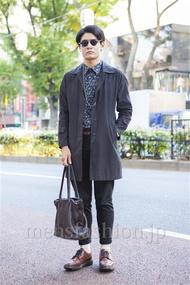 ファッションコーディネート原宿・表参道 2013年11月 藤原朋哉さん