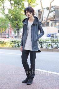 ファッションコーディネート原宿・表参道 2013年11月 藤木亮介さん
