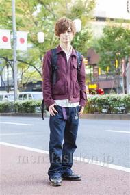 ファッションコーディネート原宿・表参道 2013年11月 村上広太さん