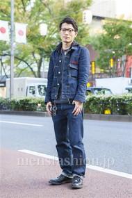 ファッションコーディネート原宿・表参道 2013年11月 大河光太朗さん