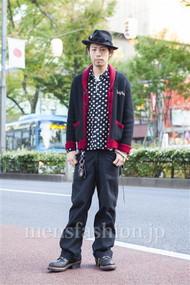 ファッションコーディネート原宿・表参道 2013年11月 小林綾太さん