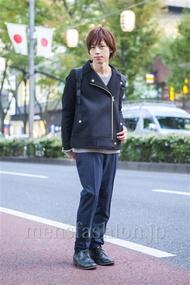 ファッションコーディネート原宿・表参道 2013年11月 大木光さん
