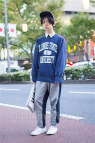ファッションコーディネート原宿・表参道 2013年11月 アンドウコウイチさん